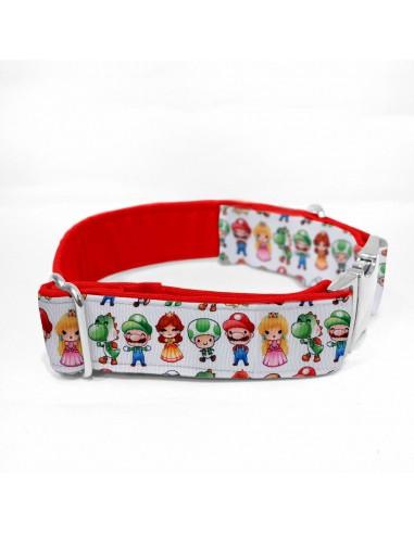 Collar Super Mario Rojo