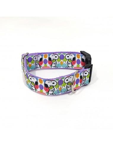 Collar Snoopy Morado