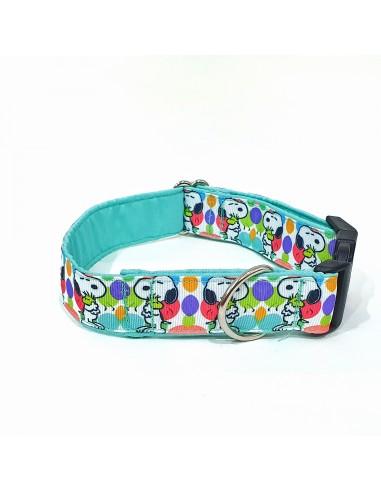 Collar Snoopy Turquesa